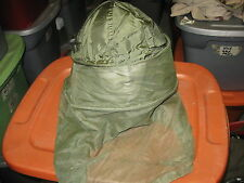GENUINE USGI US MILITARY SURPLUS OD GREEN MOSQUITO INSECT HEAD NET
