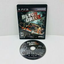 Blood Drive Sony PlayStation 3 PS3 Video Game No Manual