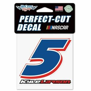 Kyle Larson 2021 Wincraft #5 Perfect Cut Decal 4x4 FREE SHIP!