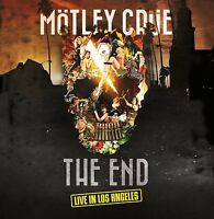 MÖTLEY CRÜE - THE END-LIVE IN LOS ANGELES (LTD EDITION)  DVD+2 LP NEW+