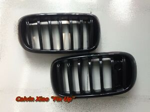 MIT GLOSS BLACK KIDNEY GRILLE BMW F15 F16 F SERIES 2013-2019 WITH CAMERA HOLE
