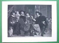 ARCHERY Contest at Antwerp Awarding Prizes - Victorian Era Antique Print