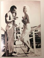 MARILYN MONROE TONY CURTIS POSTCARD 1959 Some Like It Hot laughing Magna