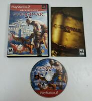 God of War Greatest Hits (Sony PlayStation 2, 2005) CIB Complete, Tested/Works