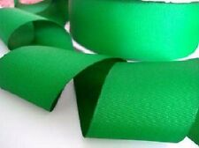 "10 yards Solid Grosgrain 2"" Ribbon/Christmas/Gift/Bow/Craft GR20-11 Kelly Green"