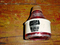 VINTAGE  HUMES AND BERG STONE LINED ALUMINUM TRUMPET MUTE WA WAH DU ALL