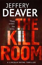 JEFFERY DEAVER ___ THE KILL ROOM ___ BRAND NEW __ FREEPOST UK