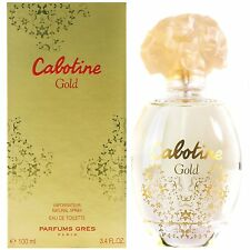 Gres - Cabotine Gold Eau De Toilette Spray 100ml 3.4oz in original sealed pack