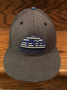 Denver Nuggets NBA Mitchell & Ness Nostalgia Fitted Cap Hat Size 7 3/4 Gray