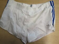 "VINTAGE ADIDAS Sprinter Pantaloni corti D6 Retrò Medio 32-34"" - Bianco"