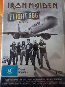 IRON MAIDEN - Flight 666 - The Film + Bonus Concert 2 x DVD Set Exc Cond!