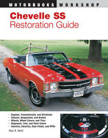 Chevelle SS Restoration Guide, 1964-1972 ~ 240 pgs~ BRAND NEW!