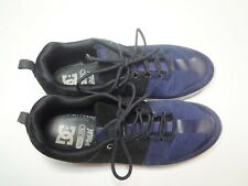 DC Shoes Mens Suede Lynx Lite SE Skate Board Shoe Black / Blue Size 12