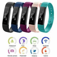 Smart Band Watch Bracelet Wristband Fitness Tracker Heart Rate Step Counter