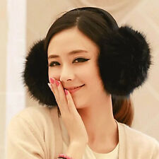 Cute Girl's Women's Winter Warm Soft Puffy Fluffy Earflap Earcap Ear Muffs Cover