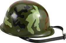 Kids Woodland Camouflage Army Toy Helmet
