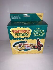 NEW Butterfly Feeder Kit The Sweeter Butterfly Feeder NECTAR GARDEN KIDS SCIENCE