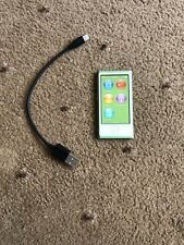 Apple iPod Nano 7th Generation Green 16GB + USB Cable Bundle