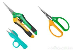 Precision Blade Pruners Garden Secateurs Plant Trimmers Rose Herbs Hydroponics