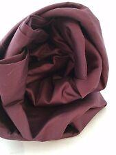 Twin Duvet Comforter Cover Wrinkle Free Plum Wine 400TC Company Store Burgundy