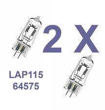 2 x Osram P1/15 240V 1000W GX6.35 64575 Light Bulb Lamp ANSI EGY LAP115