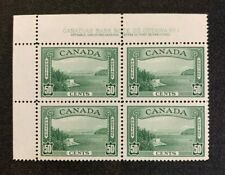 Canada Stamps #244 Plate Block MNH