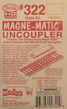 Kadee HO / On30 Scale ~  #322 ~ Permanent Magnet Delayed Uncoupler ~ Code 83