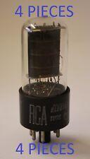 6V6GTA RCA USA NOS 4 PIECES BELIEVED 1950's TUBES VALVES