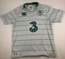 RARE CANTERBURY RUGBY IRELAND NATIONAL 2014 AWAY SHIRT JERSEY WHITE SIZE L LARGE