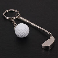 Metal Golf Chain Keychain Keyring Keychain Key Ring Clubs