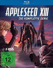 APPLESEED XIII-KOMPLETTBOX BD  3 BLU-RAY NEU