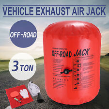 3Ton inflatable Exhaust Air lifting Jack Inlet Connection Anti-Slip Off-Road Kit