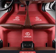 Fit For Lexus all models luxury custom waterproof floor mats 2007-2019