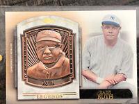 Babe Ruth, 2017 Topps MLB Legends Plaque Medallion, LP-BR, New York Yankees