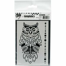 Carabelle Studio 4x6 Stencil Design for Art & Paper Crafts TE60058 Hibou Owl A6