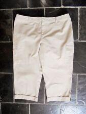 Straight Leg Cotton Regular Size Pants for Women