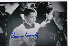 Reaumur Donnally Signed Autograph 4x6 Photo JFK Assassination Kennedy Alter Boy