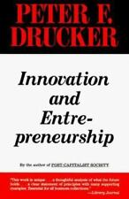 Innovation and Entrepreneurship by Peter F. Drucker (1993, Paperback)