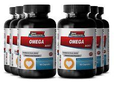 Krill Oil 1000 - Fish Oil Omega-3-6-9 3000mg - Healthy Heart Dietary Pills 6B