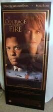 Courage Under Fire 1996 Cardboard Movie Standee Denzel Washington Ryan Fox NOS