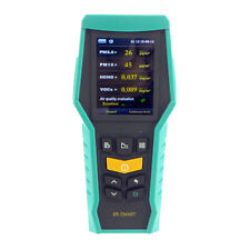 BRAMC 5-in-1 Air Quality Monitor PM2.5 PM10 Formaldehyde Gas (HCHO) VOC Detector