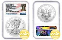 2021 $1 (P) Silver Eagle Emergency Production NGC MS69 Early Releases