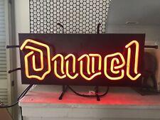 New listing Vintage Duvel Belgian Beer Neon Light Sign