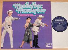 WUNDERBAR, WUNDERBAR - 15 Musical-Melodien  (PHILIPS CLUB 1968 / LP NEAR MINT)