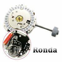 Quartz Watch Movement Date At 3' / 6' Replacement Repair Parts For Ronda RL775