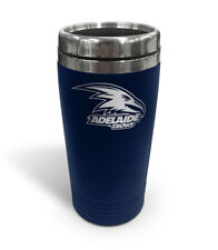Adelaide Crows AFL TRAVEL Coffee Mug Cup Double Wall Stainless Steel Gift