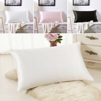 100% Mulberry Silk Pillow case Both Sides Premium Luxury 19 Momme slip Anti-wrin