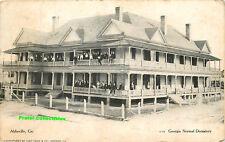 Georgia, GA, Abbeville, Georgia Normal Dormitory 1907 Postcard