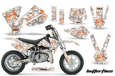 Dirt Bike Decal Graphics Kit Sticker Wrap For KTM SX50 SX 50 2002-2008 BFLY ORNG