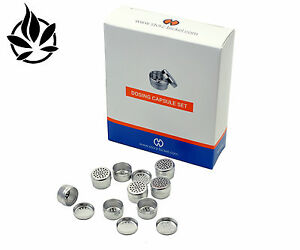 40 Dosage Dry Herb Capsules for Mighty and Crafty Vaporisers by Storz and Bickel